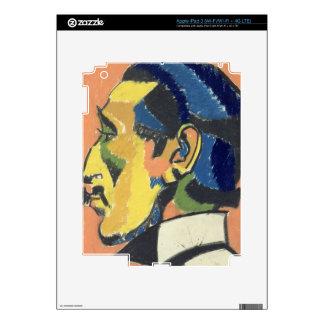 Portrait of Horace Brodsky (1885-1969) (pastel on iPad 3 Skin