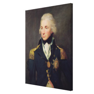 Portrait of Horatio Nelson , Viscount Nelson Canvas Print