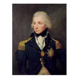 Portrait of Horatio Nelson , Viscount Nelson Postcard