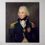 Portrait of Horatio Nelson , Viscount Nelson Poster