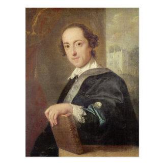 Portrait of Horatio Walpole Postcard