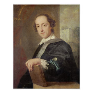 Portrait of Horatio Walpole Print