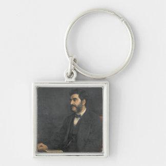 Portrait of Hormuzd Rassam, 1869 Keychain