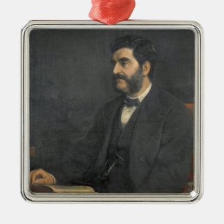 Portrait of Hormuzd Rassam, 1869 Metal Ornament