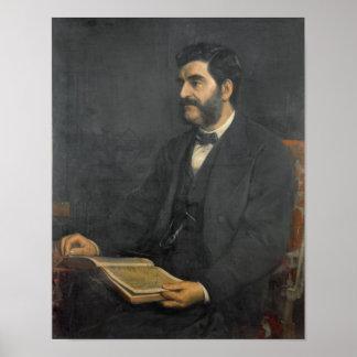 Portrait of Hormuzd Rassam, 1869 Poster
