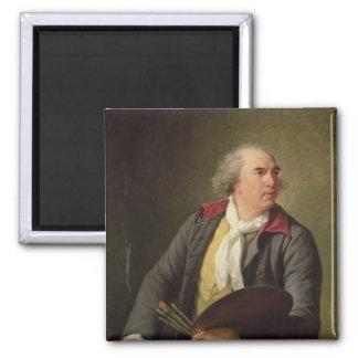 Portrait of Hubert Robert  1788 Magnet