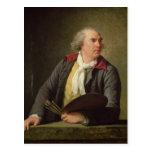 Portrait of Hubert Robert  1788 Postcard