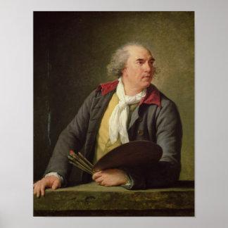Portrait of Hubert Robert  1788 Poster