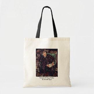 Portrait Of Hugo Koller By Schiele Egon Tote Bags