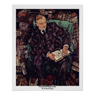 Portrait Of Hugo Koller By Schiele Egon Print