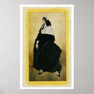 Portrait of Ida Lvovna Rubinstein (c.1885-1960) (c Print