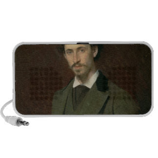 Portrait of Ilya Efimovich Repin, 1876 Notebook Speaker
