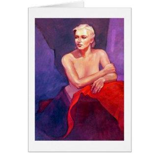 Portrait of Ingrid Greeting Card