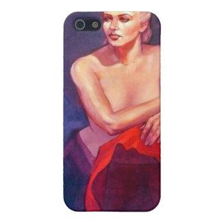 Portrait of Ingrid iPhone SE/5/5s Case