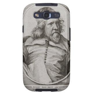 Portrait of Inigo Jones 1573-1652 engraved by We Galaxy S3 Cases