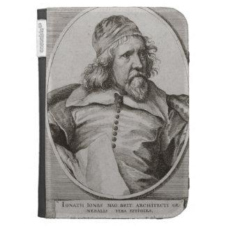 Portrait of Inigo Jones 1573-1652 engraved by We Kindle Cover