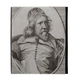 Portrait of Inigo Jones 1573-1652 engraved by We iPad Cases