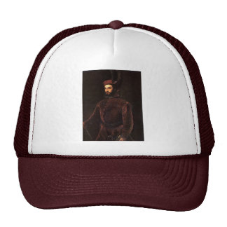 Portrait Of Ippolito De 'Medici. By Tizian Trucker Hat