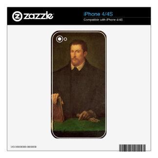Portrait of Ippolito Riminaldi Skin For iPhone 4