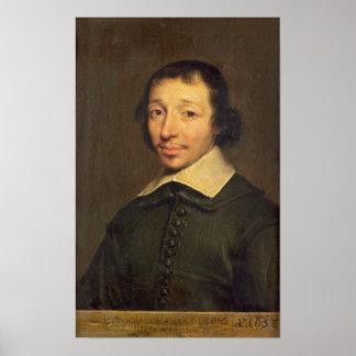 Portrait of Isaac-Louis Lemaistre de Sacy  1658 Poster