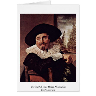 Portrait Of Isaac Massa Abrahamsz By Frans Hals Cards