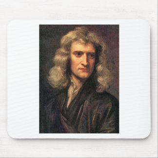 Portrait of Isaac Newton (1642-1727) Mouse Pad