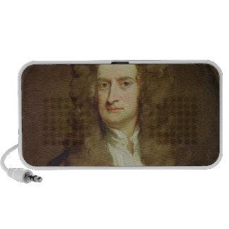 Portrait of Isaac Newton  1702 Travel Speakers