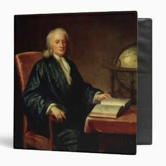 Portrait of Isaac Newton , c.1726 3 Ring Binder