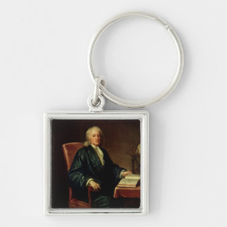 Portrait of Isaac Newton , c.1726 Key Chain
