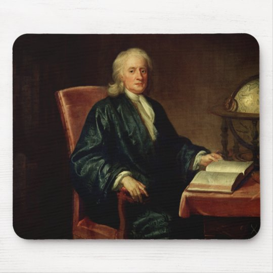 Portrait of Isaac Newton , c.1726 Mouse Pad