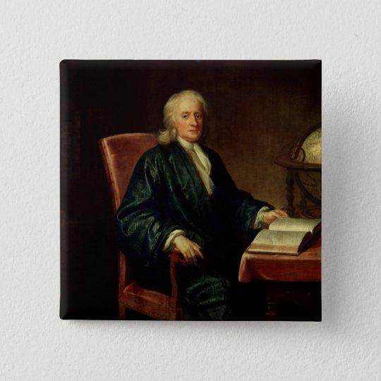Portrait of Isaac Newton , c.1726 Pinback Button