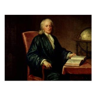 Portrait of Isaac Newton c 1726 Postcard
