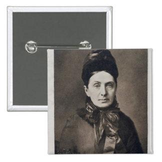 Portrait of Isabella Bird Bishop Button