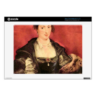 Portrait of Isabella Brant by Paul Rubens Decal For Acer Chromebook
