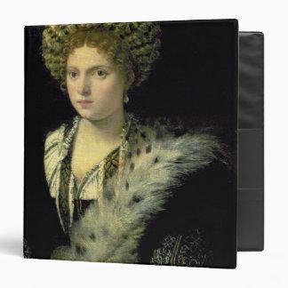 Portrait of Isabella d'Este Binder