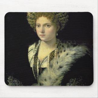Portrait of Isabella d'Este Mouse Pad