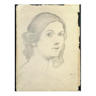 Portrait of Isadora Duncan , 1908 Postcard