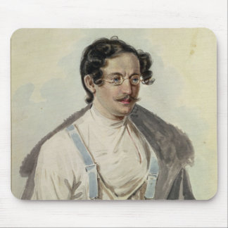 Portrait of Ivan Annenkov  in Peter Prison, 1836 Mouse Pad