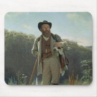 Portrait of Ivan Ivanovich Shishkin , 1873 Mouse Pad