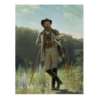 Portrait of Ivan Ivanovich Shishkin , 1873 Postcard
