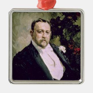 Portrait of Ivan Morosov  1903 Metal Ornament