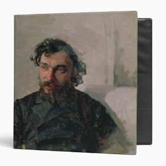 Portrait of Ivan Pochitonov , 1882 Binder