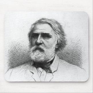 Portrait of Ivan Turgenev Mouse Pad