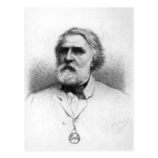 Portrait of Ivan Turgenev Postcard