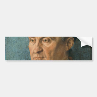 Portrait of Jacob Muffel by Albrecht Durer Bumper Sticker