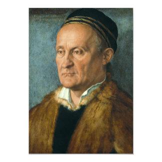Portrait of Jacob Muffel by Albrecht Durer Card