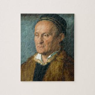 Portrait of Jacob Muffel by Albrecht Durer Puzzle