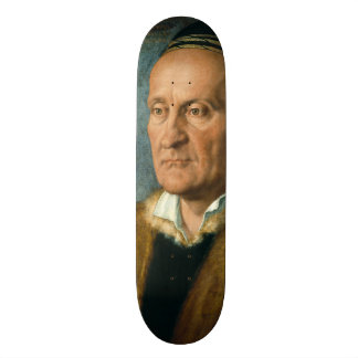 Portrait of Jacob Muffel by Albrecht Durer Skateboard Deck