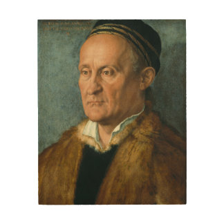 Portrait of Jacob Muffel by Albrecht Durer Wood Canvases