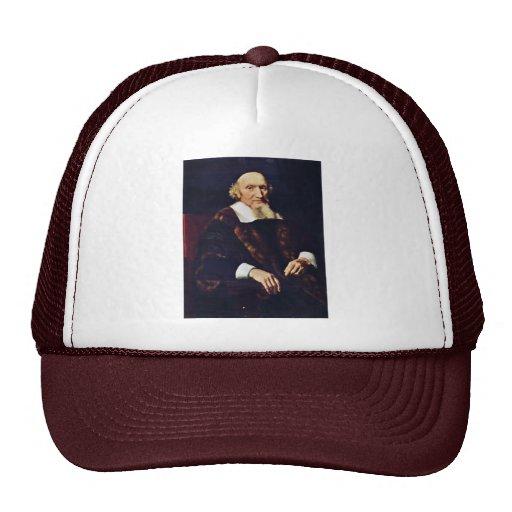 Portrait Of Jacob Trip By Maes Nicolaes Trucker Hat